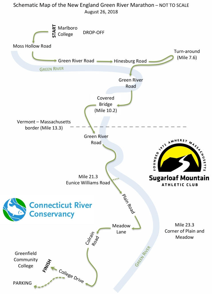 Microsoft Word - Schematic Map of New England Green River Marath